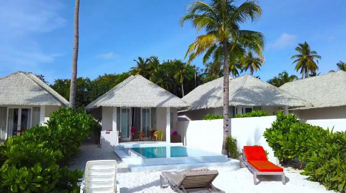Grand Beach Suite with Pool