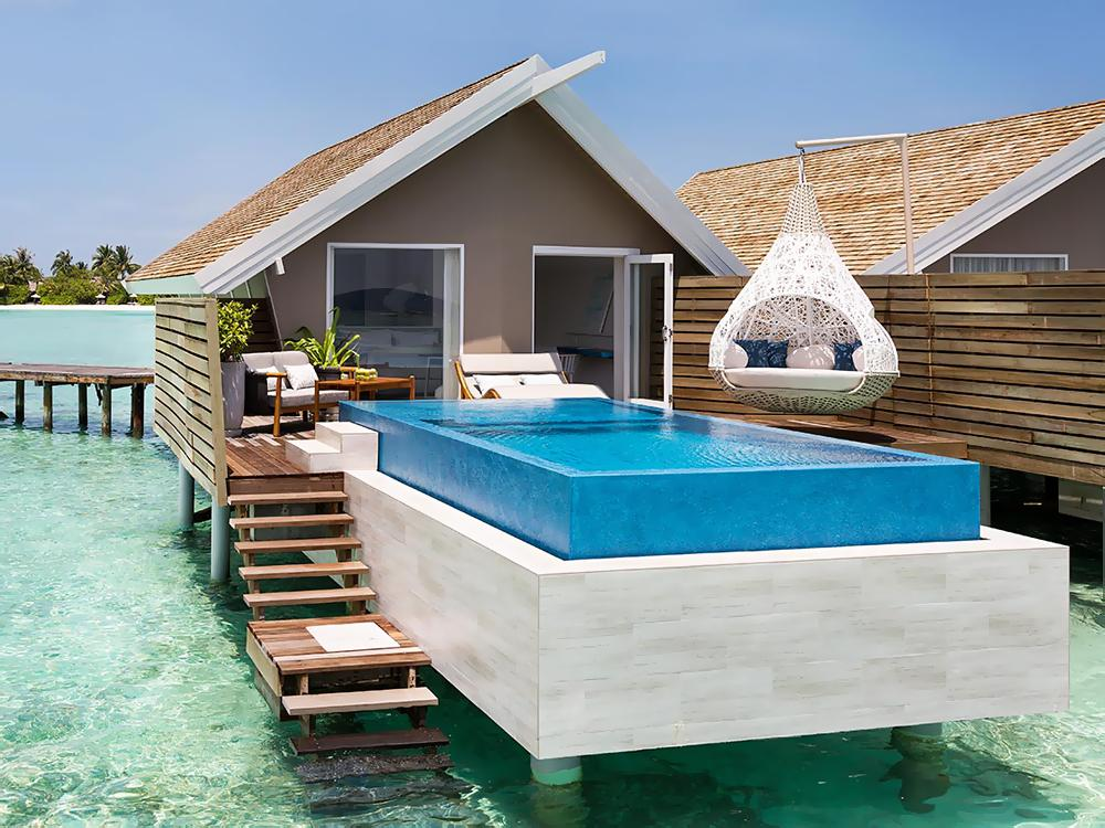 Romantic Pool Water Villa